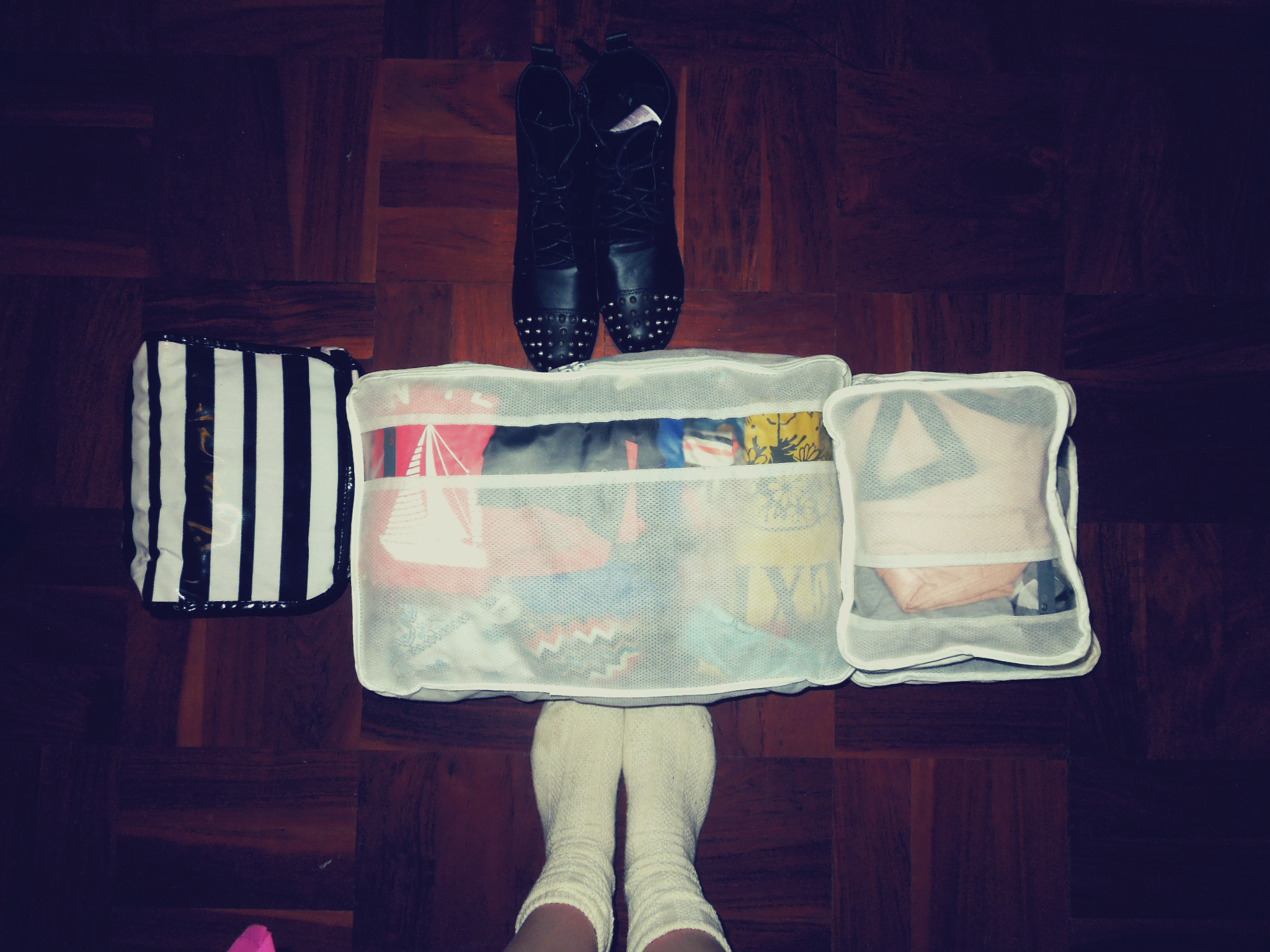 All packed