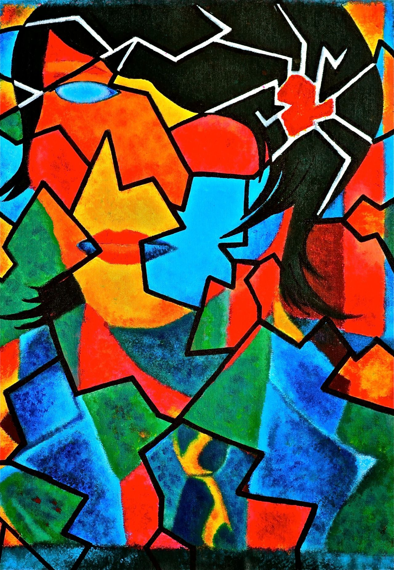 TheExpressionistArt_Shattered_Rainbow