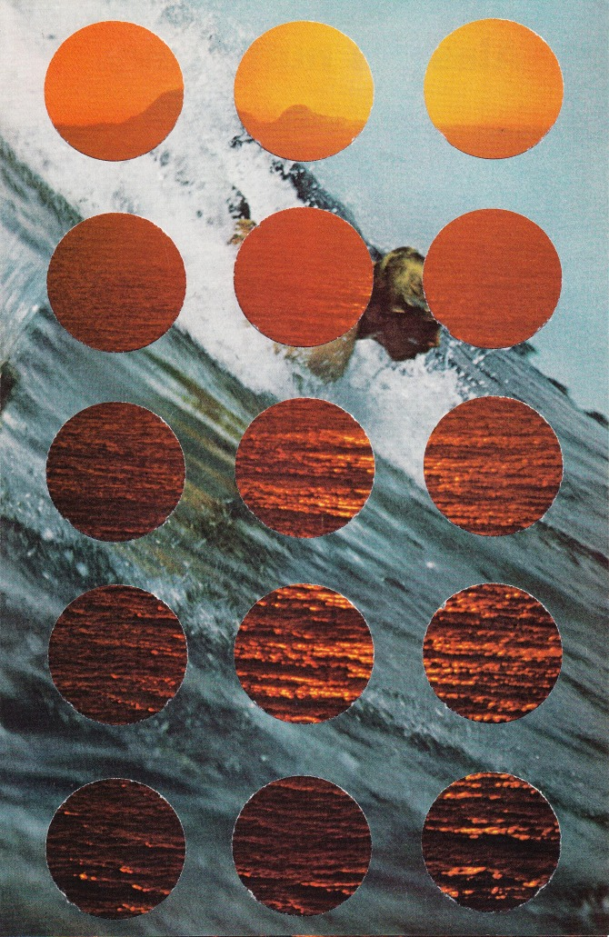 Time and Tide Randy Grskovic collage contemporary art SMALL