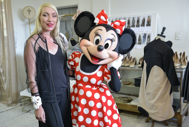 Minnie Mouse and Suzaan Heyns, Studio Visit (4)