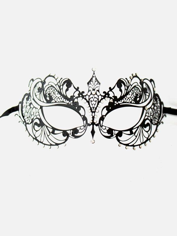 http://masqueboutique.com/product/sophie-black-diamante-metal-filigree-laser-cut-masquerade-mask/